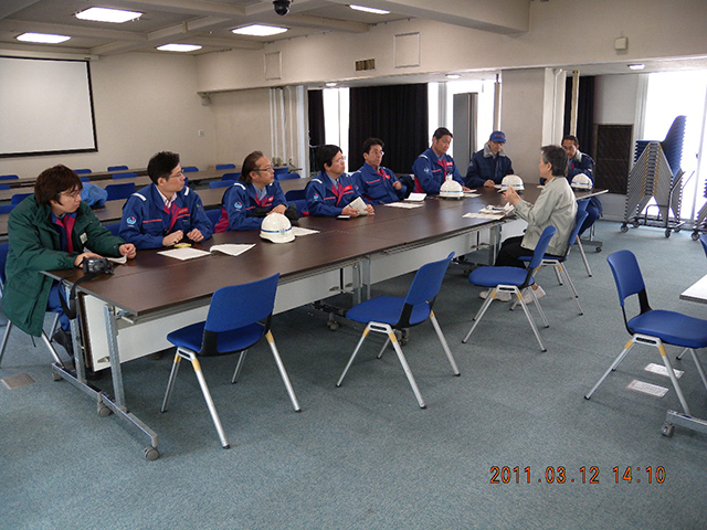 Disaster Response Room / Advance team