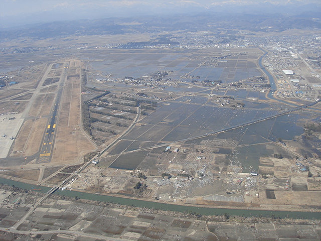 Completion of recovery of Sendai airport / Material of Tohoku Regional Development Bureau of MLIT /