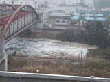Miyagi Sendai River / Tsunami / Backward flow