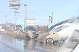 Fukushima Minamisoma Damage / Damaged vehicle