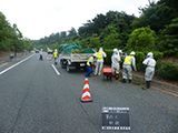 Fukushima Hirono Decontamination / weeding