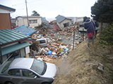 Fukushima Soma Damage / Tsunami near harbor