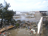 Fukushima Soma Damage After tsunami near harbor